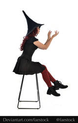 Hocus Pocus -  Witch stock model reference 12