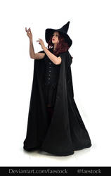 Hocus Pocus -  Witch stock model reference 17 by faestock