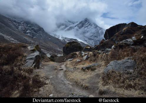 Nepal - Himalayan Mountain Landscape - Stock ref13