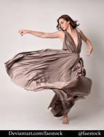 Satin - full length model pose 20