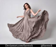 Satin - full length model pose 23