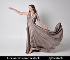 Satin - full length model pose 24