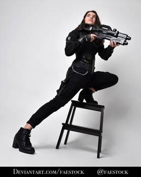 Shanae Modern - Full length pose reference photo