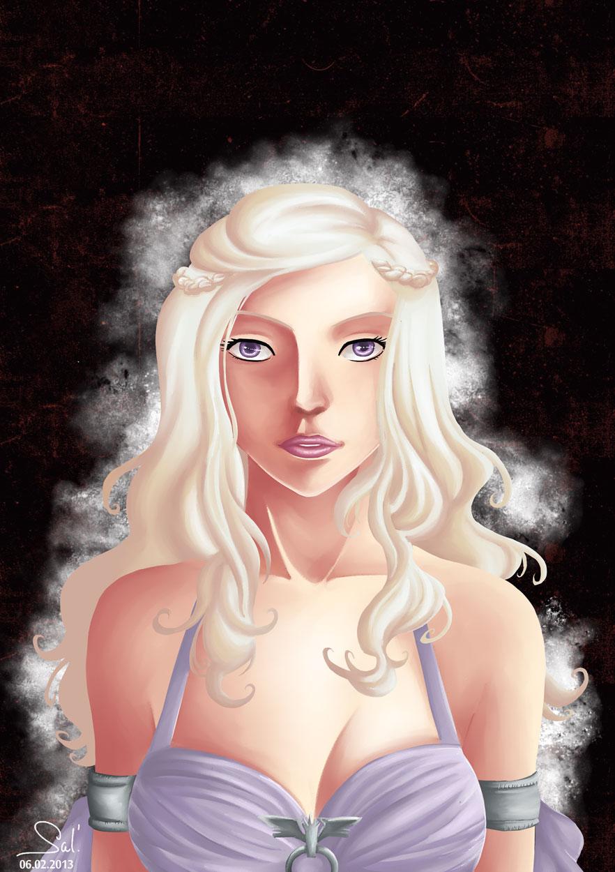 Daenerys Targaryen by Salayanara on DeviantArt
