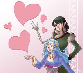 Bran and Lynette by Salayanara
