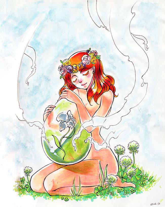 Spirit of nature by Salayanara