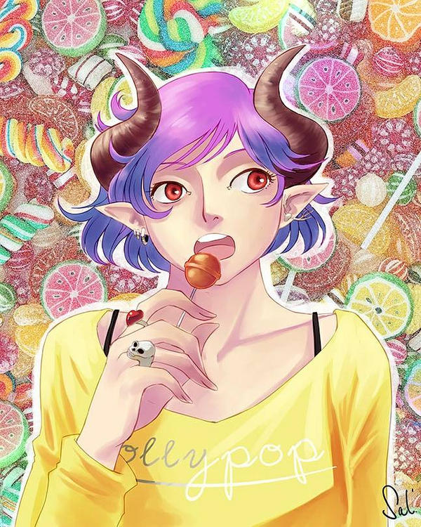 Sweet candy by Salayanara