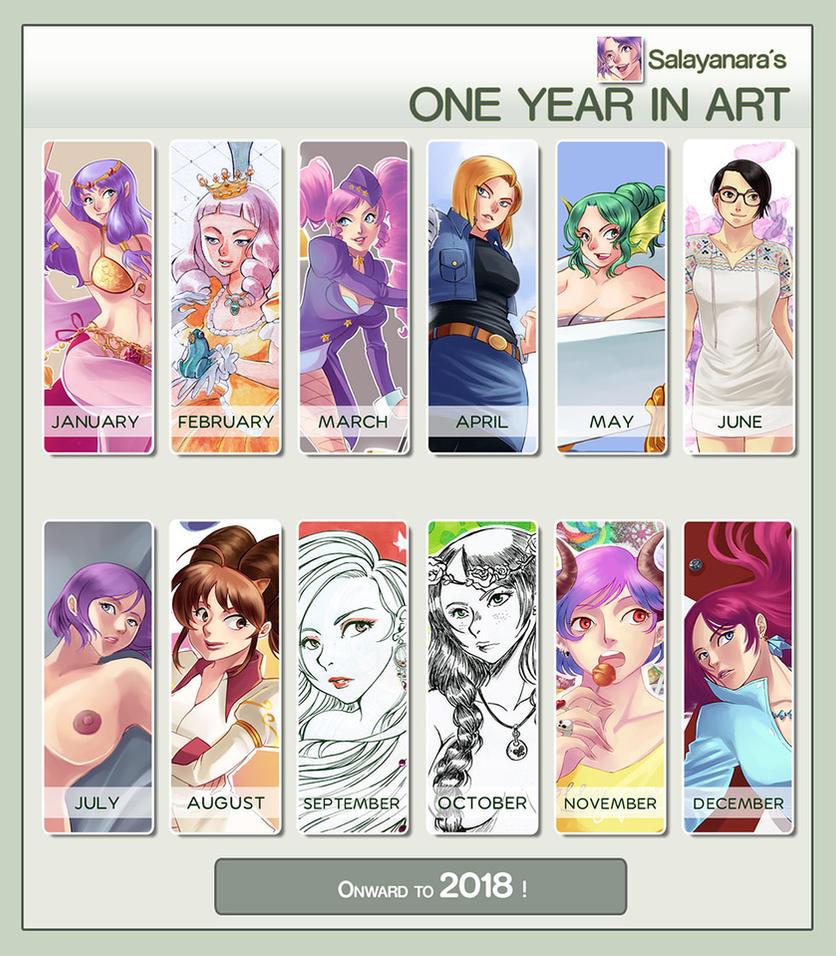 2017 Summary of art by Salayanara