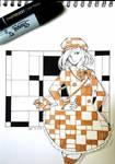 Pattern - Inktober 10 by Salayanara