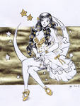 Smiling stars - Inktober 14