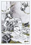 Treasure - Inktober 21