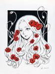 Poppies - Inktober 24