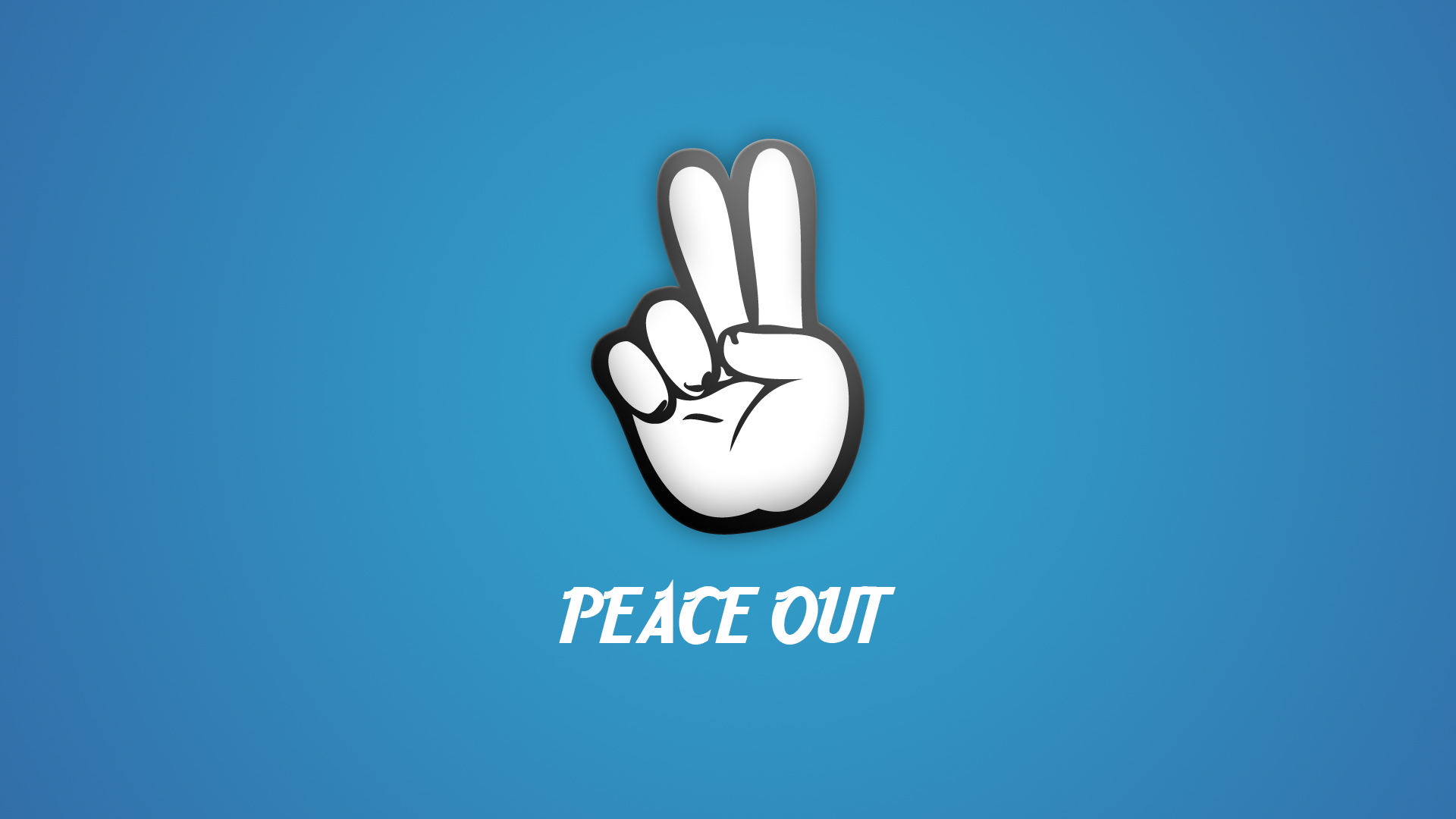 Peace Out Wallpaper By Only Unnamed On Deviantart