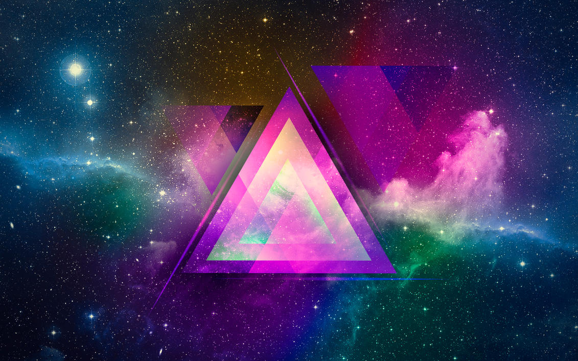 Abstract Space Wallpaper By Only Unnamed