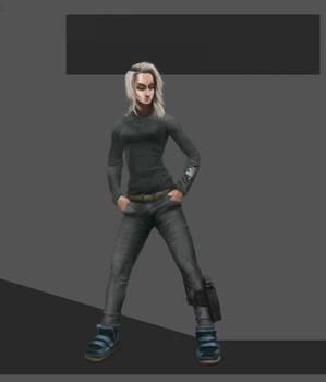 Sci-fi Character Artwork