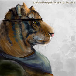 Tiger Claw by painterbrush-turt