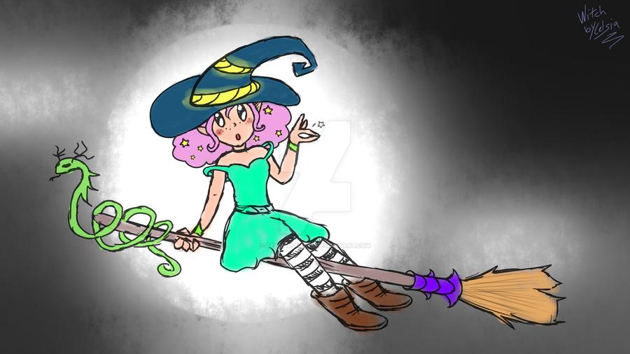 Little Witch by CelsiaLunatik