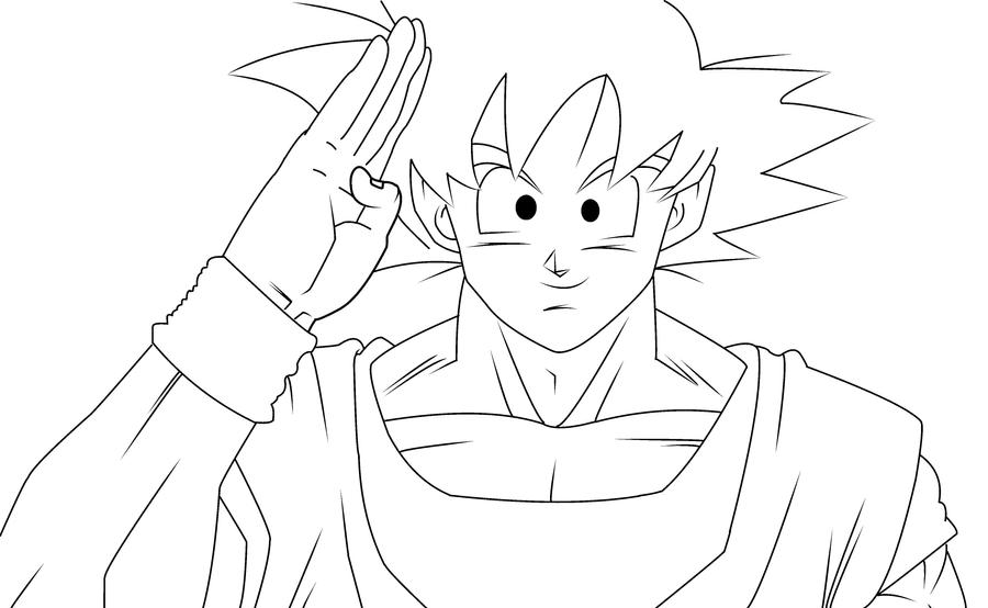 Goku Saludandonos By Bobtronja On DeviantArt