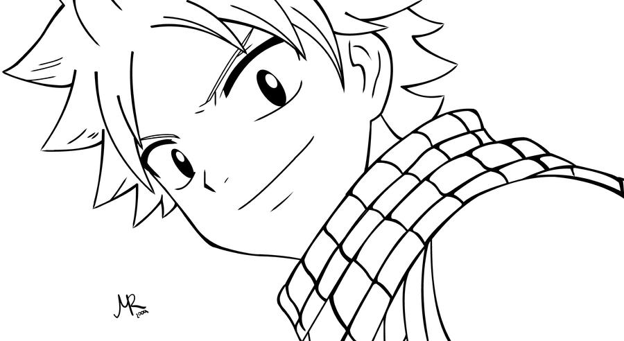 Fairy Tail Para Colorear: Fairy Tail Natsu Coloring Pages Coloring Pages
