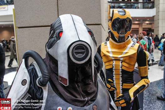 Volus and Salarian Cosplay @ C2E2 2014