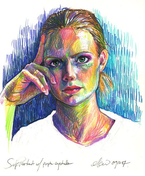 self-portrait by bigbigtruck