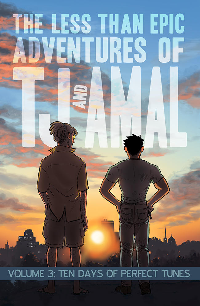 TJ and Amal Volume 3 front cover