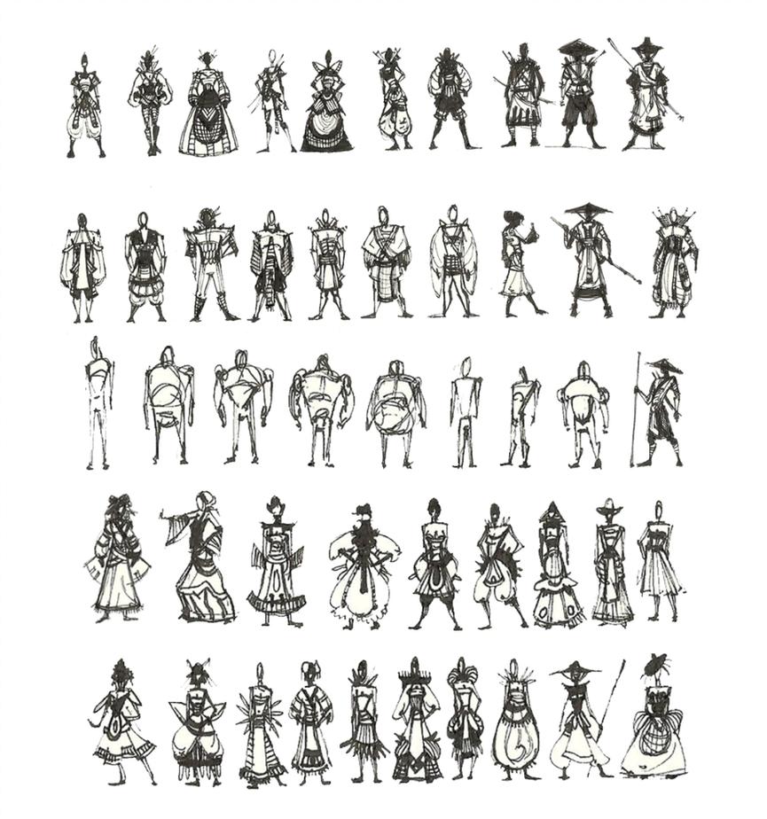 Character Design Sketchbook : Character design sketches pixshark images