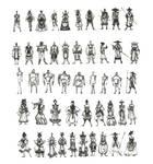 Sketch Character Design.