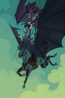 Steampunk Pegasus by Nafah