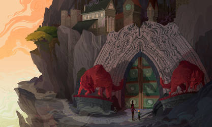 The Apprentice Gate by Nafah