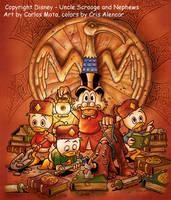 Disney Characters by CarlosMota