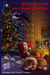 Disney's Christmas by CarlosMota