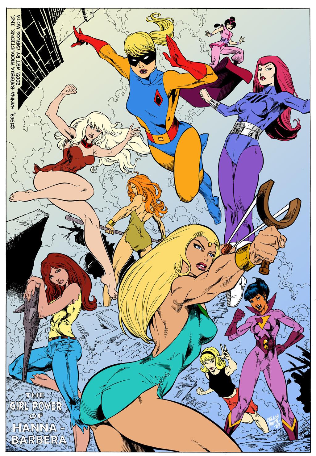 Image of Hanna-Barbera heroines