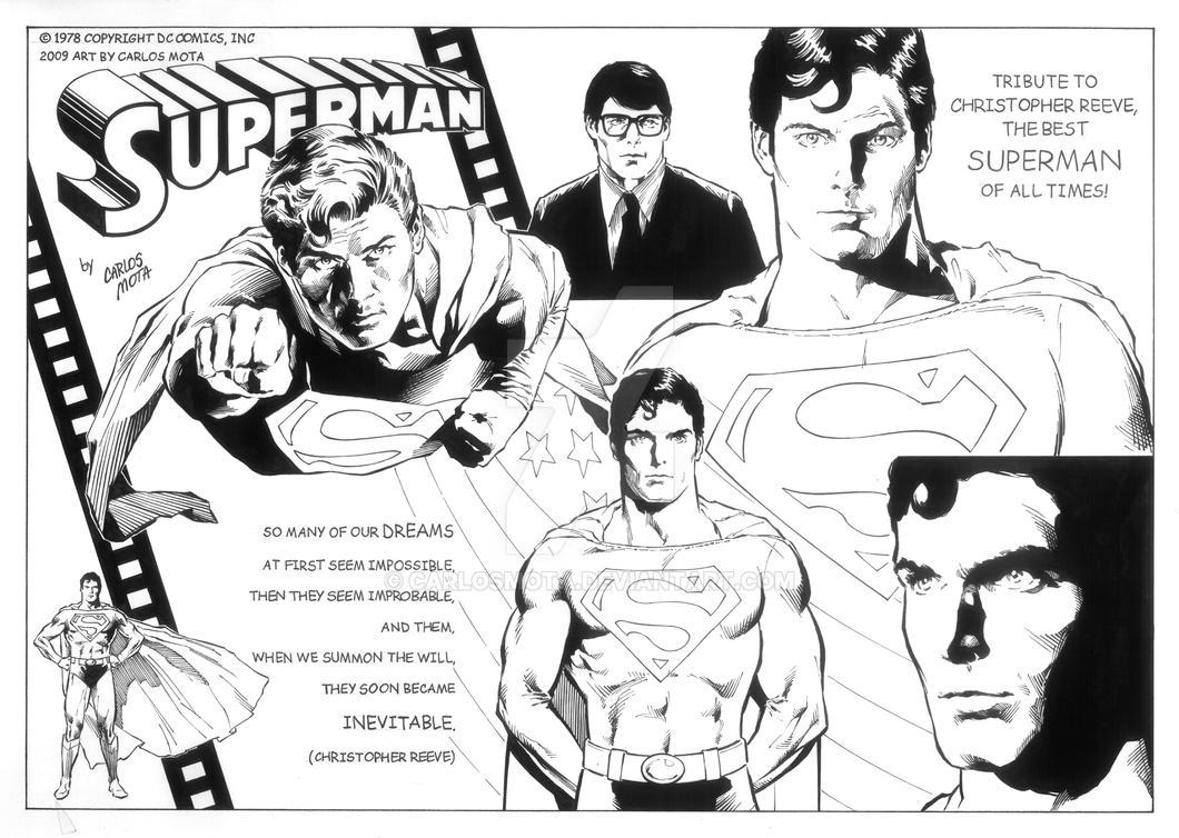 Superman Christopher Reeve by CarlosMota