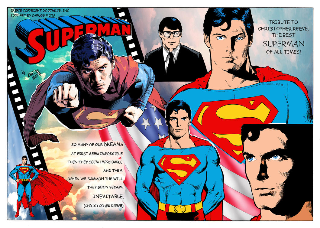 Superman Christopher Reeve Tribute by CarlosMota