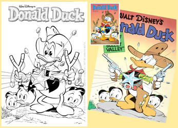 Donald Duck Barks Cover