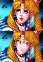 Sailor Moon Redraw, feat. Sailor Saitama by Avriia