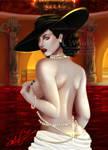 Lady Dimitrescu by Avriia