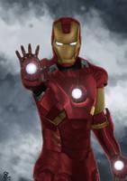 Iron Man by Sassalang
