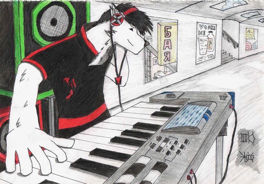 Ryuki Ookunami :TECHNO: by irfan9835