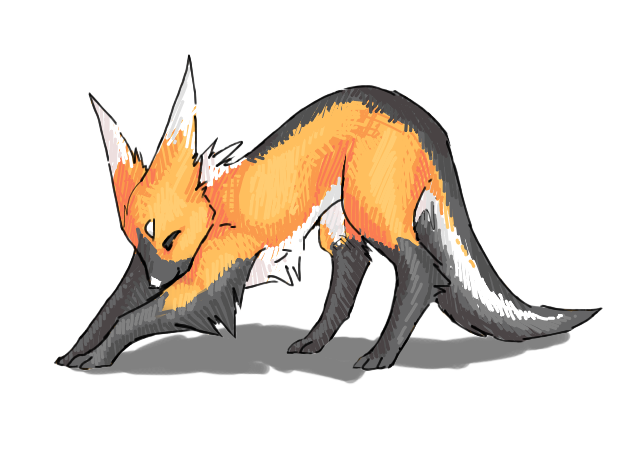 Faux Fox by Deericious
