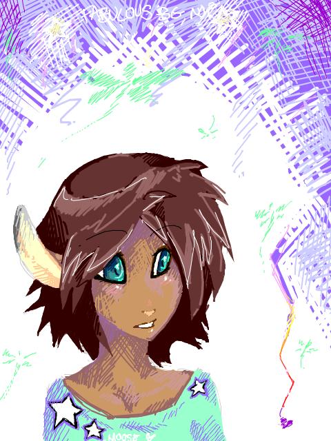 Tegaki Moose, yeah. by Deericious