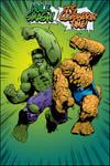 Hulk Thing clash color art