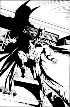 Batman Confidential inks