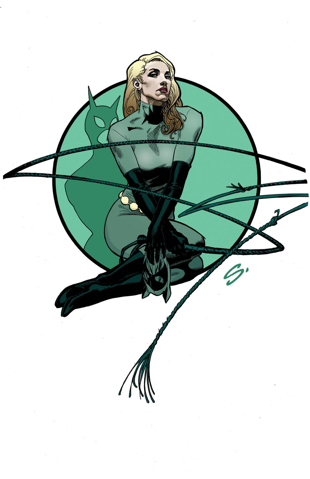 ELSA CATWOMAN COLORS copy 2 by stevescott