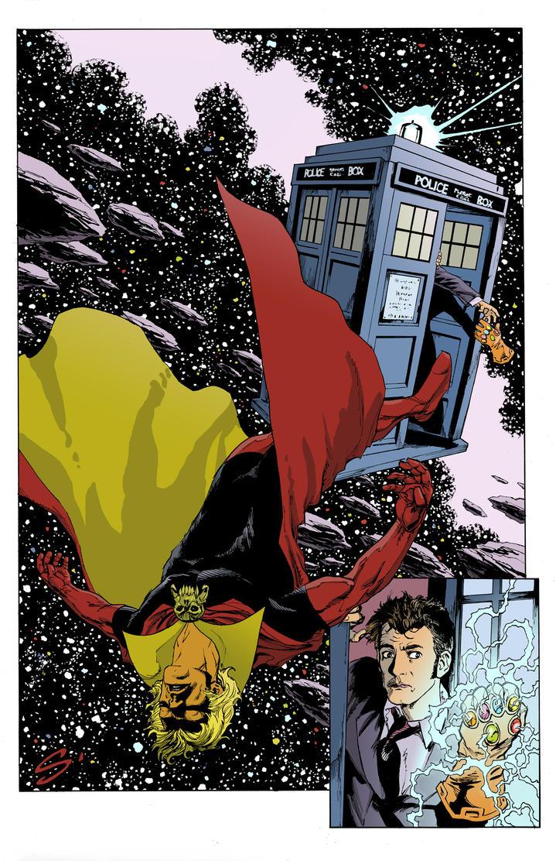 Warlock Doctor Who by stevescott