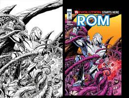 Rom cover art sample