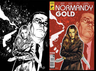 Normandy Gold five cover sample by stevescott