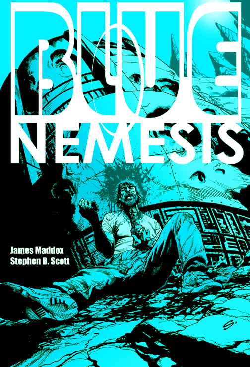 Blue Nemesis Promo By Stevescott-d6t59pv by stevescott