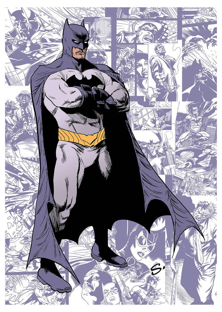 BATMAN. My run on the series by stevescott